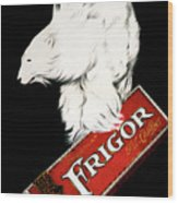 Frigor Chocolate Poster By Leonetto Cappiello, 1929  Wood Print