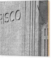 Frisco Lines Wood Print