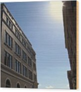 Frisco Square Wood Print