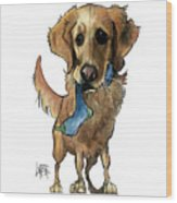 Fritz 3330 Wood Print