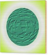 Frog Famtasy Wood Print
