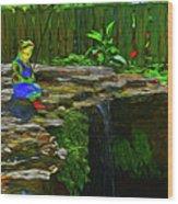 Froggy 11318 Wood Print