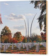 From Arlington Wood Print by JC Findley