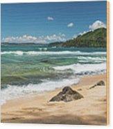 From Bali Hai To Hanalei Wood Print