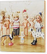 From Life Of Toys Wood Print