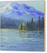 From Sparks Lake Wood Print