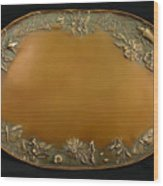 From The Foothills Bronze Tray Wood Print