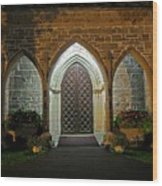 Front Door Christ Church Cathedral 1 Wood Print