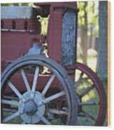 Front End Of A Mccormic Deering Tractor Wood Print