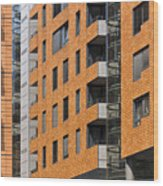Frontage Wood Print