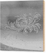 Frost 3 Wood Print