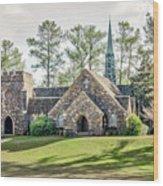 Frost Memorial Chapel Wood Print