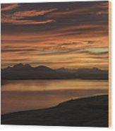 Frostakjoahals Ridge Iceland 1234 Wood Print