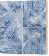 Frostwork ...2584 Wood Print