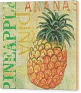 Froyo Pineapple Wood Print