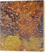 Frozen Colors  Wood Print
