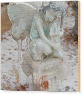 Frozen Fairy Wood Print