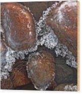 Frozen Jewels Wood Print