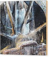 Frozen - John P. Cable Grist Mill Wood Print