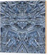 Frozen Symmetry Wood Print