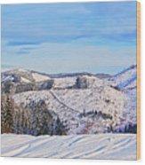 Frozen Valley 2 V3 Wood Print