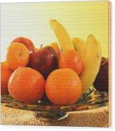 Fruit Arrangement Wood Print