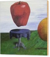 Fruit Assemblage Wood Print