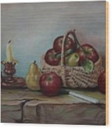 Fruit Basket - Lmj Wood Print