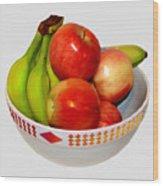 Fruit Bowl Still Life Wood Print