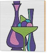 Fruit Compote Wood Print