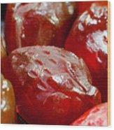 Fruit Gummies Wood Print