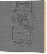 Fruit Machine Patent 1978 Wood Print