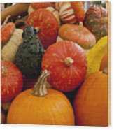 Fruit Of The Harvest Wood Print