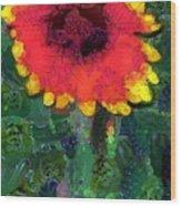 Fruit Salad Flower Wood Print