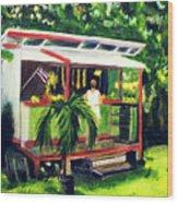 Fruit Stand North Shore Oahu Hawaii #163 Wood Print
