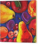 Fruit Tumble Wood Print