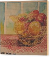 Fruitbasket Wood Print