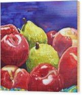 Fruitfully Yours Wood Print