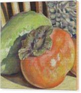 Fruits Of Autumn Wood Print