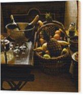 Fruits Of France Wood Print