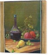 Fruits Of Life Wood Print