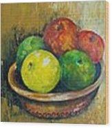 Frutas Wood Print