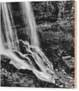 Fry Falls Overlook Wood Print