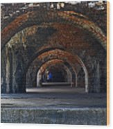Ft. Pickens Arches Wood Print