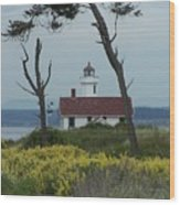 Ft. Warden Lighthouse Wood Print