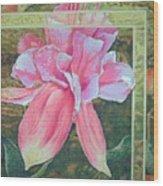 Fucshia Wood Print