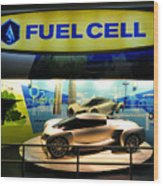 Fuel Cell Tech Wood Print