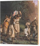 Fugitive Slaves, 1867 Wood Print by Granger
