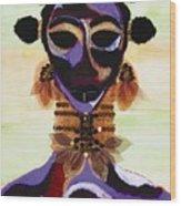 Fulani Wood Print