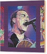 Dave Matthews Band -full Band Set Wood Print